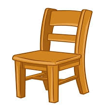 wooden chair clipart. Modren Wooden Wood Chair Isolated Illustration On White Background Illustration In Wooden Clipart S