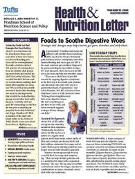 tufts university health and nutrition letter one year subscription 2000003293773 print magazine barnes le
