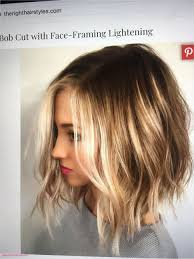 Shoulder Length Layered Side Swept Bangs Hairstyles Layered Haircuts