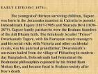 brief biography of rabindranath tagore