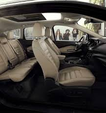 2018 ford escape interior. plain 2018 amenities explore features 6 panoramic vista roof available in the 2018  ford escape on ford escape interior