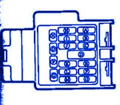 mazda b2300 1999 mini fuse box block circuit breaker diagram mazda b2300 1999 mini fuse box block circuit breaker diagram