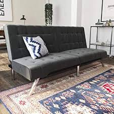 Image Sleeper Sofas Image Unavailable Amazoncom Amazoncom Dhp Emily Futon Couch Bed Modern Sofa Design Includes
