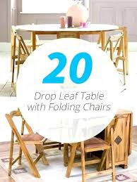 decoration drop leaf table furniture nice folding with chair storage inside and 2 chairs ikea wooden