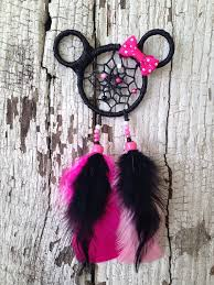 Minnie Mouse Dream Catcher Mickey and Minnie Mouse Dreamcatcher car charm Mickey 2