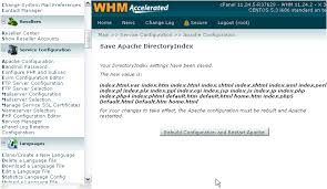 How to configure Apache web server in WHM - Kualo Limited