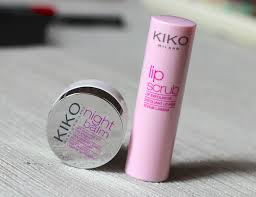 kiko lip scrub night balm review photos