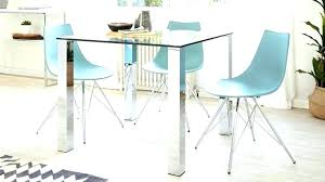 small round glass dining table top set s