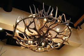 clever deer antler chandelier canada i3704993
