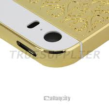 iphone 5s gold and black. luxury black gold case cover housing full of crystal replacement for iphone 5 body 5s and