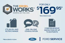 ford works the diesel works works so you can lasalle ford