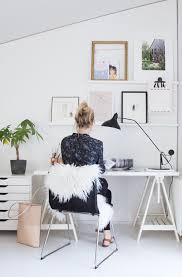 home office style. my spring office update scandinavian home style