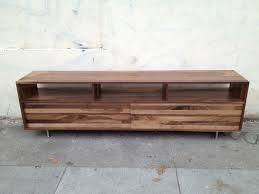 long low mixedwalnut media console ( to  inch)