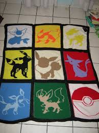 Eeveelution Knitted Quilt by AnOwlatNoon on DeviantArt & Eeveelution Knitted Quilt by AnOwlatNoon ... Adamdwight.com