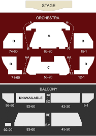 Rock Of Ages Theatre Las Vegas Nv Seating Chart Stage