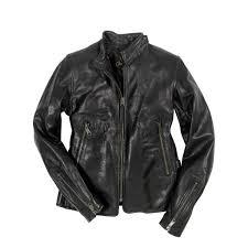 motorcycle cafe racer jacket in black