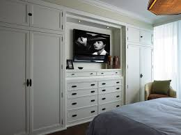 Bedroom Wall Units For Storage Delectable Cindy Ray Interiors Bedroom Builtins With White Builtin Cabinets