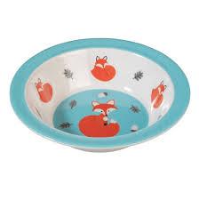Vaisselle Melamine Design Dotcomgiftshop Rusty The Fox Design Melamine Bowl My Fox
