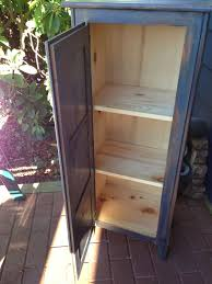 rustic farmhouse jelly cupboard 150 00