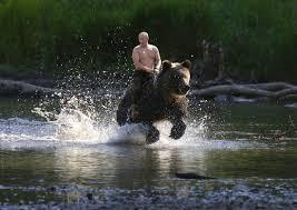 Resultado de imagen de putin y el oso