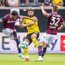 Borussia dortmund westfalenstadion dortmund bvb. Bvb Fc Bologna Giovanni Reyna Der Uberragende Mann Im Letzten Testspiel Bvb 09