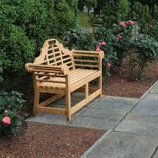 lutyens garden bench designed by