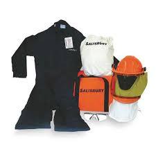 Salisbury 12 Cal Arc Flash Kit Size Medium With Coat And Bib