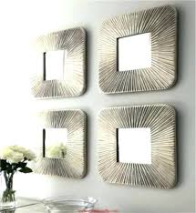 wall decor sets small decorative wall mirror sets with set three mirrors mirror wall decor set