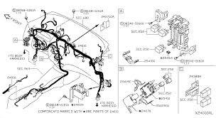 nissan versa note oem parts nissan usa estore wiring 240 main harness