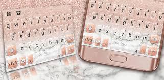 Rose Gold <b>Glitter Marble</b> Keyboard Theme - Apps on Google Play