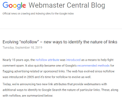 How Will Googles New Link Attributes Change Seo