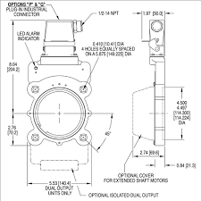 rotary encoder incremental encoder quadrature encoder outline drawing