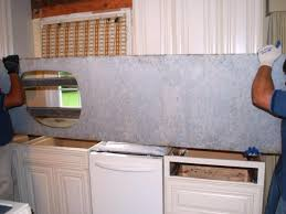 Kitchen Granite Counter Top How To Install A Granite Kitchen Countertop How Tos Diy