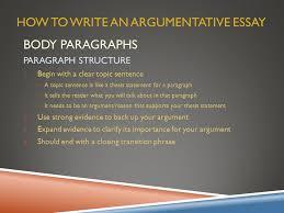 argumentative essay overview ppt video online  how to write an argumentative essay