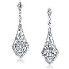 59 best wedding earrings images on wedding earrings art deco dangle earrings