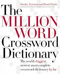the million word crossword dictionary read a sle read a sle enlarge book cover