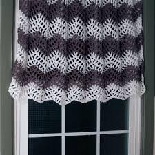 chevron curtain free crochet pattern
