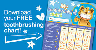 Teeth Cleaning Chart Free Download Your Free Toothbrushing Chart Dpas
