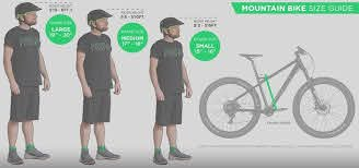 our ultimate mountain bike size guide