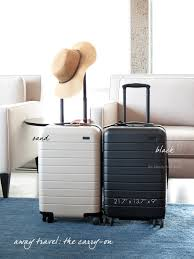 Suitcase Nightstand packing for a summer getaway with carryons the beauty look book 1384 by guidejewelry.us