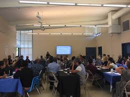 the fairfield police department hosted a roundtable discussion on the topic of homelessness monday june 18 2018 courtesy photo