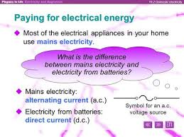 alternating current examples appliances. 19.2 domestic electricity paying for electrical energy  most of the appliances in your home alternating current examples