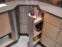 Corner cabinet storage options contemporary-kitchen