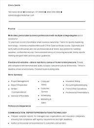 Free General Resume Template Free Printable Job Resume Templates