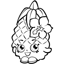 Coloring Pages Shopkins 40 Printable