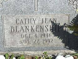 Cathy Jean Young Blankenship (1946-1992) - Find A Grave Memorial