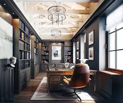 Home office library design ideas Transitional Home Office Library Ideas191 Kindesign One Kindesign 28 Dreamy Home Offices With Libraries For Creative Inspiration