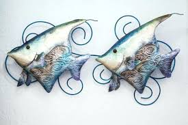 wall arts metal fish wall art metal fish wall art beach style wall sculptures decorating on fish metal wall art australia with wall arts metal fish wall art the variety of fish included in the