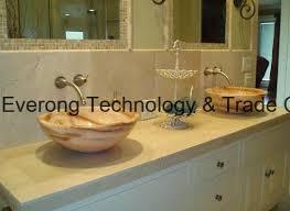 onyx granite quartz acrylic artificial ceramic art stone wash sink basin for bathroom kitchen countertop white black grey silver red blue green