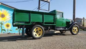 1931 Ford AA Pickup Truck 4 Cylinder Manual Ice delivery Truck Movie ...